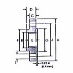 ANSI B 16.5 Class 2500 IB Weld Neck Flanges