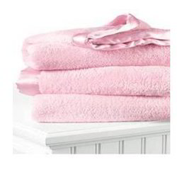 Sateen Border Fleece Blanket