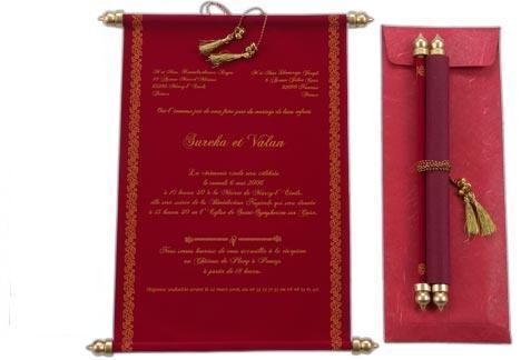 scroll wedding invitations at rs 68 piece s andheri west