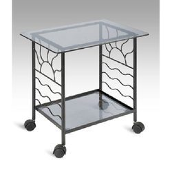 TV Trolley with Single Rack