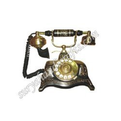 Brass Telephone With Stand