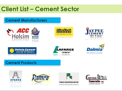 Client List (Cement Sector)