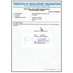 FIEO Certificate