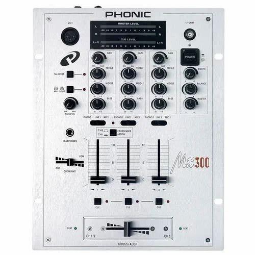 DJ Mixer - Phonic MX300 Wholesale Distributor from Delhi