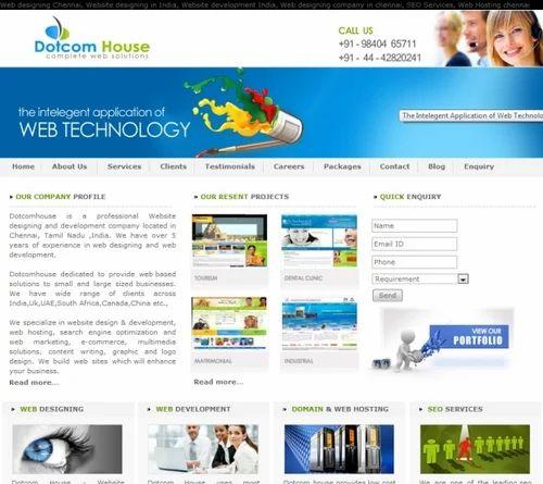 Web Design, Dynamic Website Development Dotcom House
