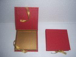 Custom Dew Drop Printed Handmade Paper Book Style Box, Packaging Type: Custom
