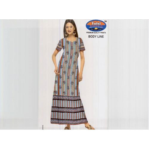 bb54f10e2a9d Ladies Night Gown - Ladies Nightgown Exporter from Mumbai