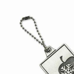 Meta Ball Chain Key Ring