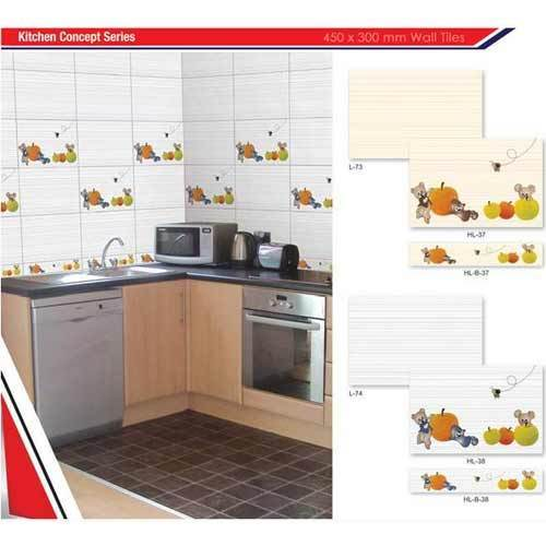 Kitchen Tiles With Fruit Design