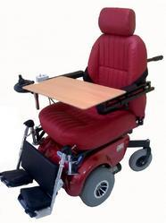 Deluxe Front Wheel Drive Manual Reclining Backrest And Foot Rest Elevating Wheelchair