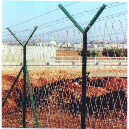 Razor Mesh Chain Link Fence Concertina Coils Barbed Wire