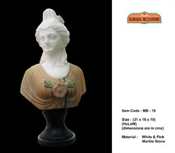 Marble Stone Mini Bust Statues