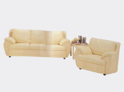 (Living Room Furniture) Leather