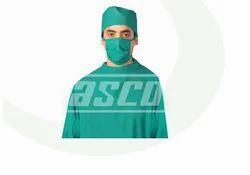 ASCO Green Cotton Surgical Cap