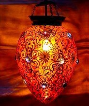 Hanging Candle Lamp