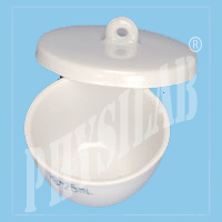 Physilab White Crucible Squat, Packaging Type: Box Packing