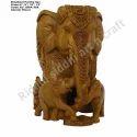 Elephant Family Statue