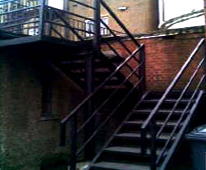 Fire Exit Staircase