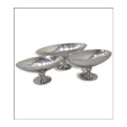 Aluminium Bowls With Stand