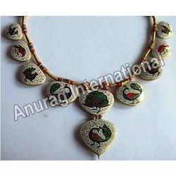 Kundan Meena Necklace Diamond Polki