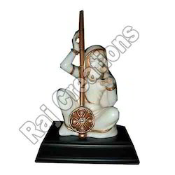 Marble Decorative Meera Statue