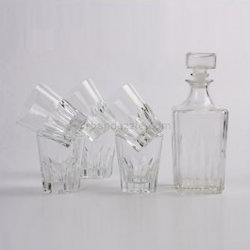 graal glass with decanter set