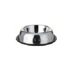 Belly Side Embossed Anti Skid Dog Bowls