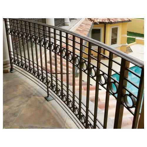 Balcony iron railing designs - lightandwiregallery.com.