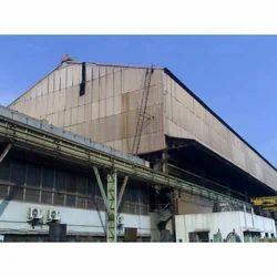 2500sqm Metal Roof Work