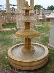 Three Tier Stone Fountain