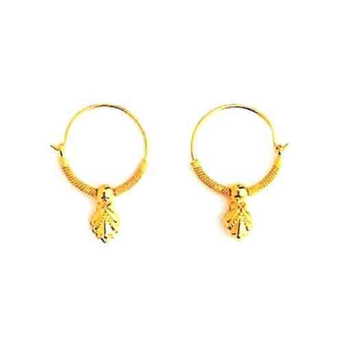 Designer Gold Earring View Specifications & Details of Gold