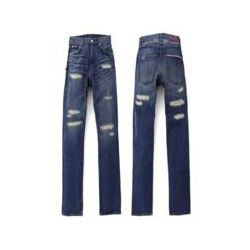 Trousers Metal Zippers