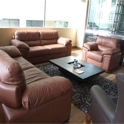 Brown Italian Leather Sofa View Specifications Details Of