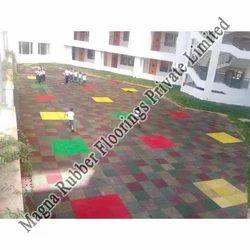 Rubber gym flooring: Eco Friendly Rubber Gym Flooring