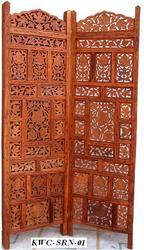 Wooden Screen Partition for Home