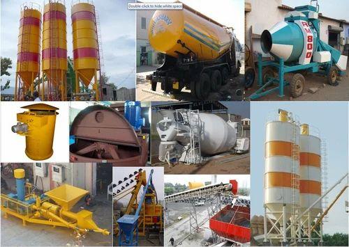Rmc Plant Spare Parts Construction Machineries Vatva