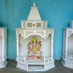Carved Marble Temples for Home