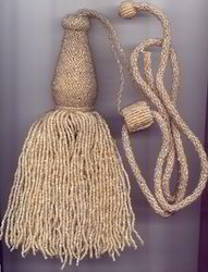 Decorative Beaded Tieback