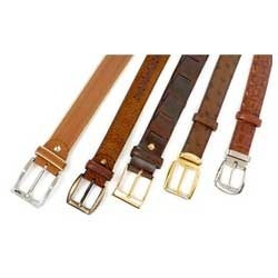 Red Akshita Leather Belts