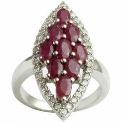 Big Silver Ring Jewelry
