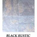 Rustic Black Slatestone Tile