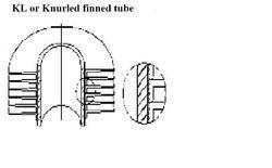 KL Or Knurled Finned Tube
