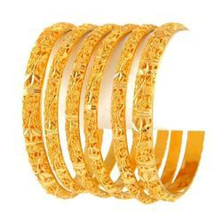 Gold Jewellery Gold Bangles Manufacturer from Surat