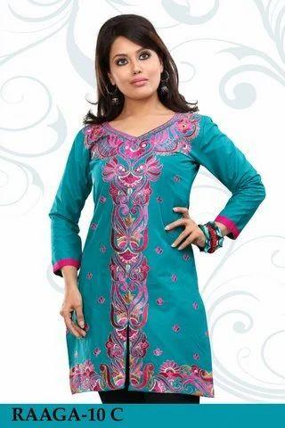 a6cc6302e1 Cotton Kurtis Online Shopping - Cotton Ladies Kurtis Manufacturer ...