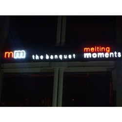 Sign Boards With 3D LED Letters