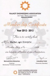 Member: Rajkot Engineering Association