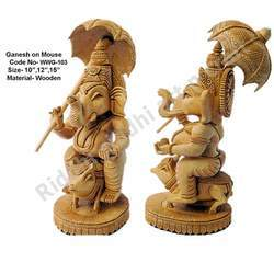 Ganesha Statue on Mouse