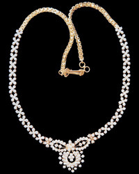 Diamond Necklaces Chettinad Necklaces 2 Manufacturer From Chennai