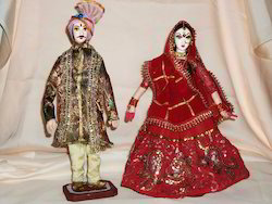 Indian Couple Doll