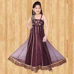 d55e614482f Kids Brown Dress